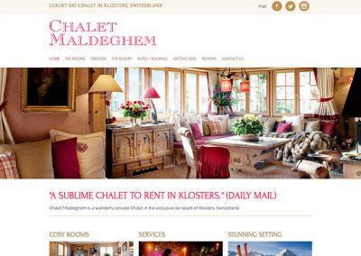 Chalet in der Schweiz