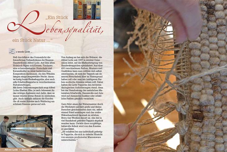 Buch Faszination Handwerk – Weberei